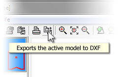 Module: DXF export for users ordering models